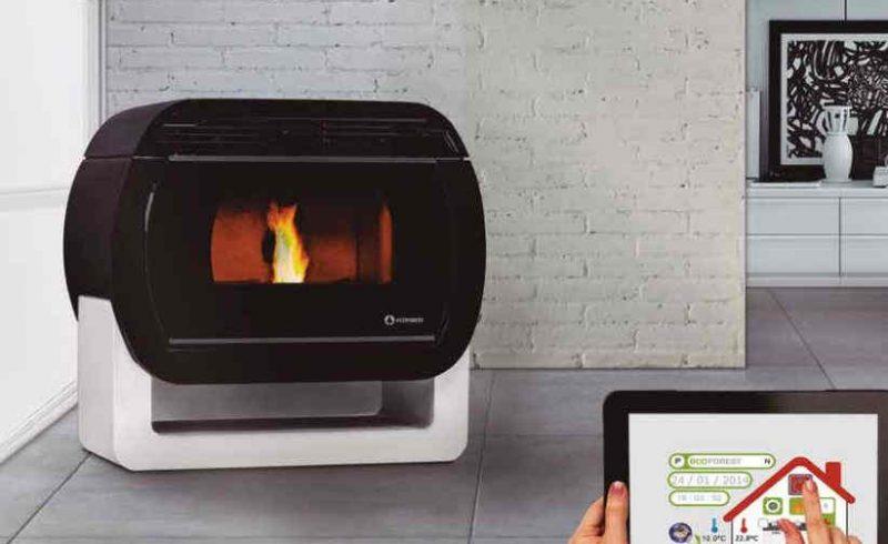 Comprar estufa de pellet la rambla calor renove - Que es una estufa de pellet ...