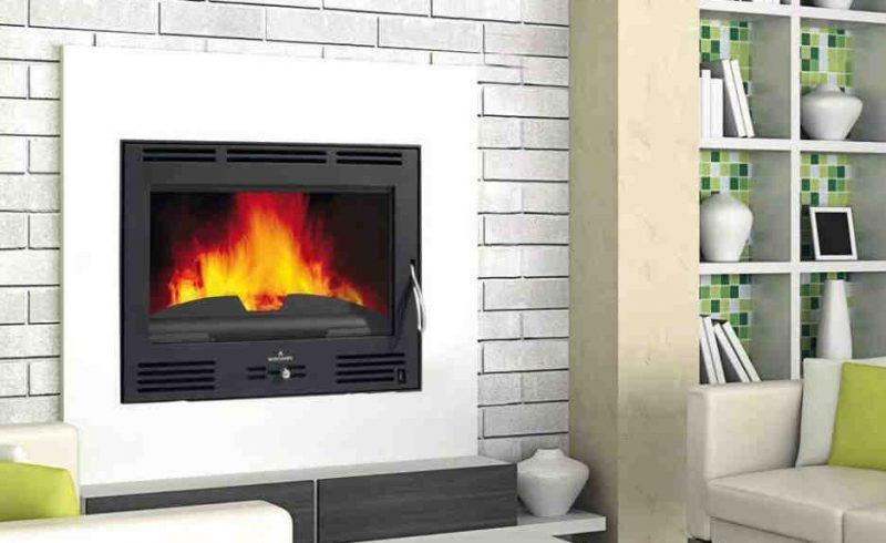 Estufas de pellet montalb n calor renove - Estufa de calor ...